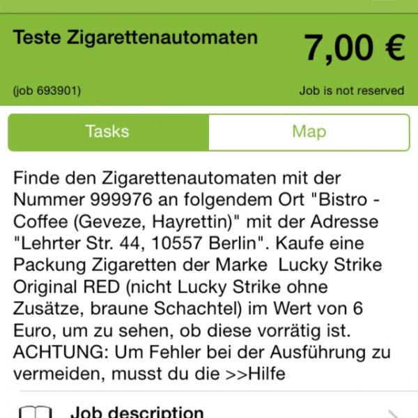 KOSTENLOSE PACKUNG ZIGARETTEN UND 1€ mit bisschen Aufwand!