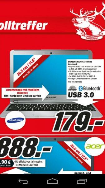 "MM Berlin: Samsung Chromebook 11"" mit UMTS"