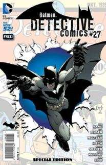 Batman Detective Comics #27 am 29.11.2014 Gratis im Comic-Laden