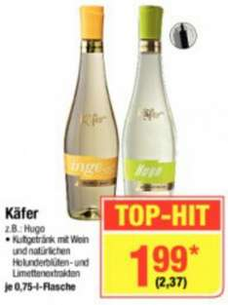 Metro] Käfer Hugo für 2,37€