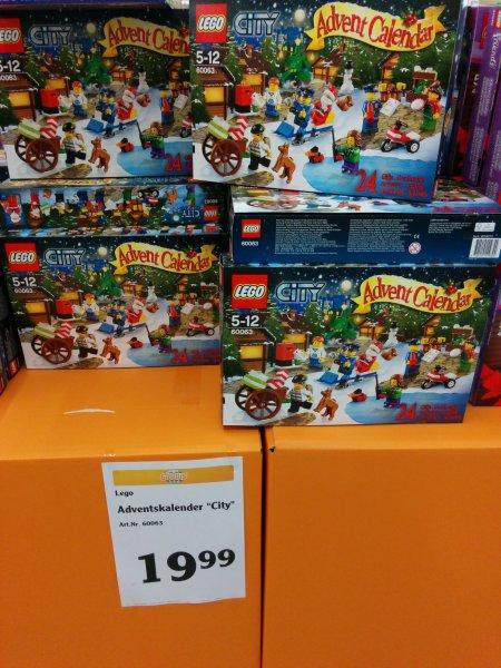 [lokal?] Lego City Adventskalender Globus Saarlouis