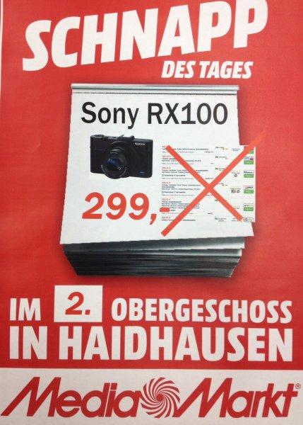 Sony RX100 für einen Hammerpreis im Media Markt Haidhausen