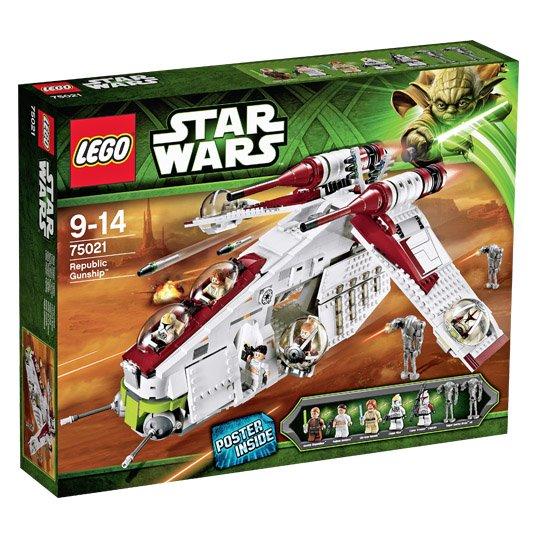 LEGO Star Wars Republic Gunship (75021) @Real