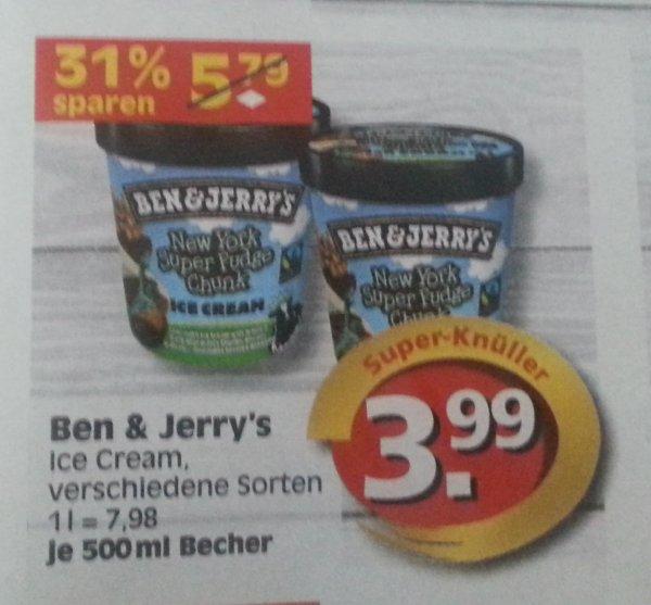 [lokal Berlin?] Ben & Jerry's 500ml für 3,99 bei EDEKA / Reichelt ab dem 27.10.