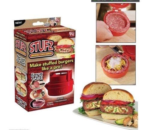 Stufz Burgerpresse für gefüllte Burger für 2,29€ bei eBay