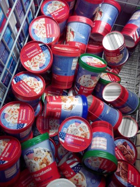 American Ice Cream ähnlich Ben & Jerry oder Häagen Dazs bei Aldi Süd