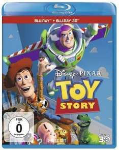 [Blu-ray] Toy Story 1 [+Blu-ray] [Blu-ray 3D] @ Amazon (Prime)