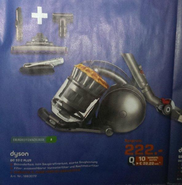 [Lokal?-Saturn-Solingen] Dyson Dc 33 C Plus Set