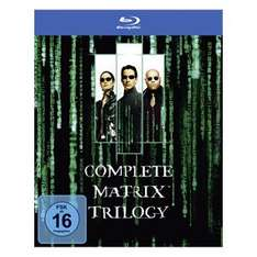 Matrix - The Complete Trilogy, The Dark Knight Trilogy und Oceans Trilogie [Blu-ray] für je 15€ inkl. Versand @Real