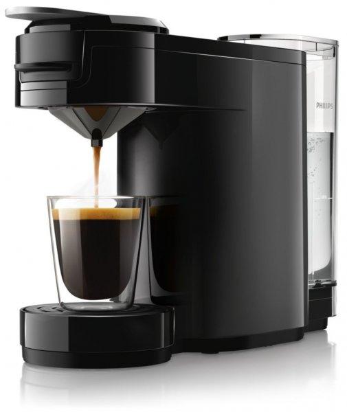 [Blitzangebot] Philips Senseo HD7884/60 Up Kaffeepadmaschine mit Edelstahl 1450 W, schwarz für 69,95€ @Amazon