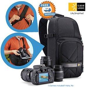 Case Logic CPL -107 SLR Kamera-Rucksack in schwarz für 29,95€ frei Haus @iBOOD