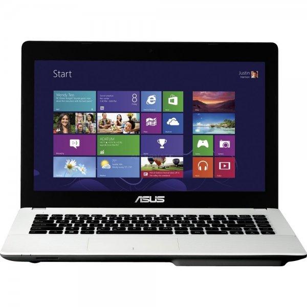 """ASUS X451MA (Intel N2815, 4GB RAM, 500GB HDD, 14"""", 2,2kg, Win 8 - weiß oder schwarz) - 222€ @ ebay/Alternate"""
