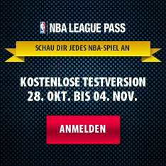 NBA LEAGUE PASS - Kostenlose Testversion