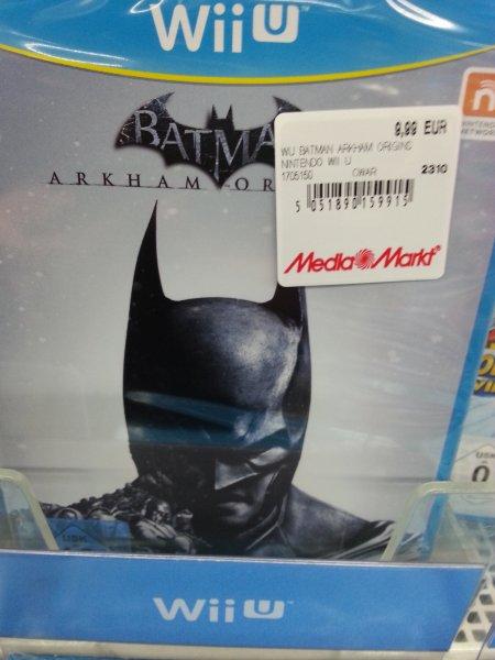 [lokal MM Paderborn] Batman: Arkham Origins & Lego Batman 2 (Wii U) für je 9,99€