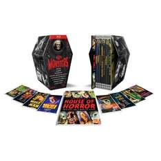 (UK) The Classic Monster Coffin Collection [8 x Blu-Ray] 42.62€ @ Zavvi