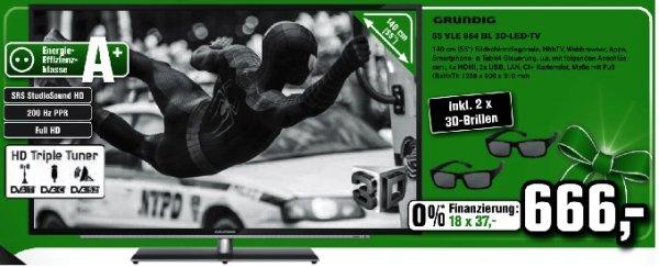 "[Alphatecc] 20 Jahre Alphatecc Angebote, z.B. Grundig 55"" Full HD 3D LED mit 2 Brillen, Playstation 4, Xbox One uvm."