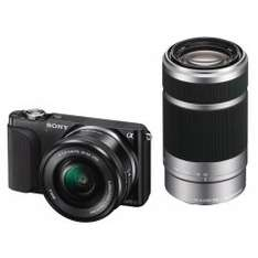 [sony outlet] Sony Alpha NEX-3N Kit 16-50 mm + 55-210 mm (NEX-3NY)