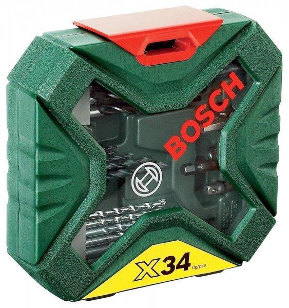 BOSCH X-Line 34-tlg. Bohrer Schrauberset Bitset Bits Metall Stein & Holz EBAY WOW