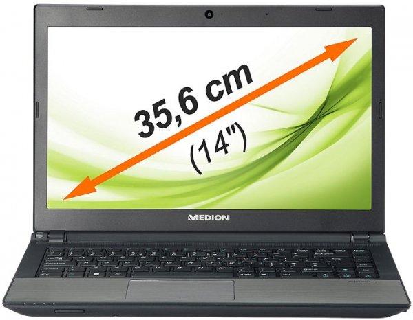 """Medion S4216 (i3-3217u, 4GB RAM, 1TB HDD & 32GB SSD, 14"""" matt, Win8, 1,9kg) - B-Ware - 349€ @ Medion"""