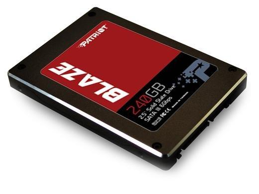 "iBOOD: SSD ""Patriot Blaze"" 240GB für 105,90€ inkl. Versand"