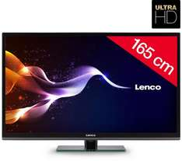 LED UHD TV 65 Zoll Lenco-6501-4k für 918,99€ bei Pixmania