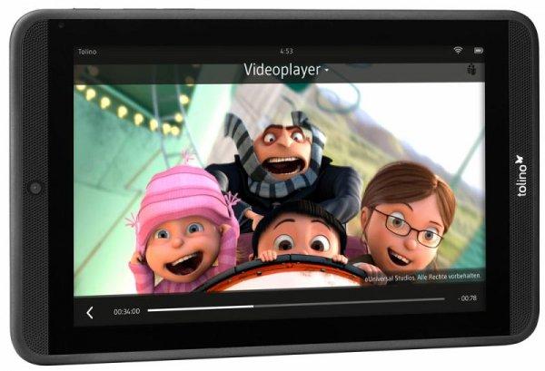 [Buecher.de] Tolino Tab 7'' (7 Zoll/17,7 cm HD-Tablet, HQ-Stereo-Sound, Quad-Core-Prozessor) für 89€ inkl. VSK