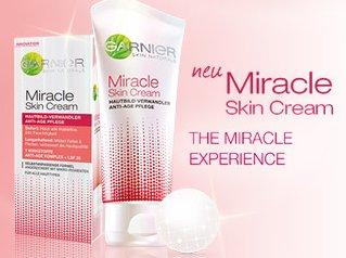 [REWE BUNDESWEIT] Garnier Miracle Skin Cream 50ml für 7,99€ (Angebot+Coupon)