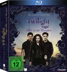 Twilight-Saga Complete Collection (Digipack) [Blu-ray] für 19,99 € (Prime) > [amazon.de]