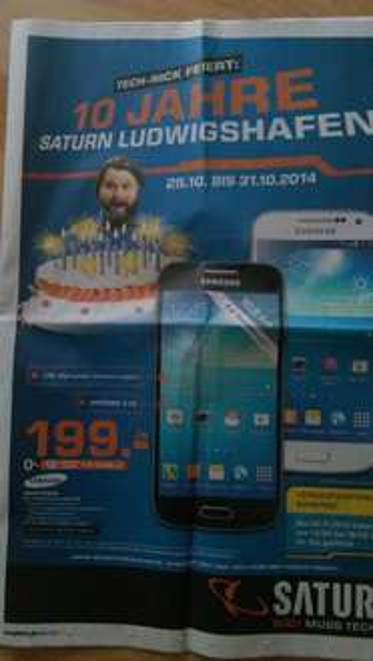 [Lokal Saturn Ludwigshafen] Samsung Galaxy S4 Mini