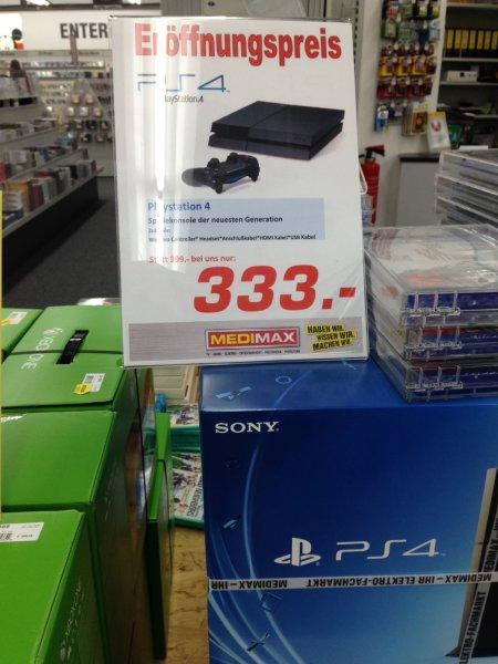 PlayStation4 im MediMax Berlin Lichtenberg