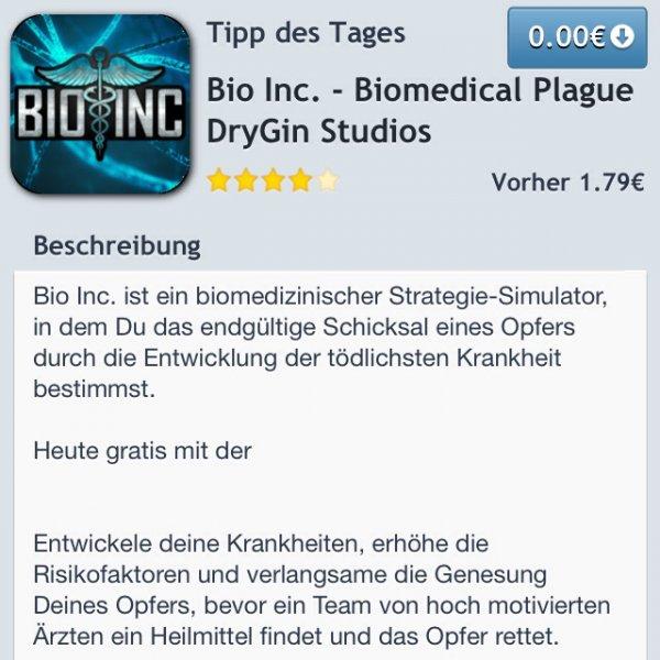 Bio Inc. IOS kostenlos