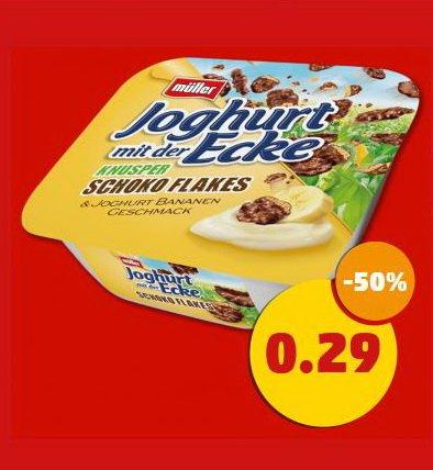 [Penny/Bundesweit] Müller Joghurt mit der Ecke für nur 0,29 € (-50%) ab 27.10.2014