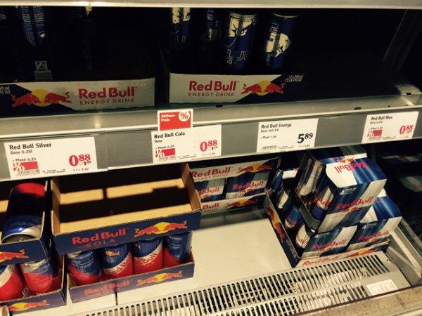 Red Bull (alle Sorten) bei Globus für -,88€ + Pfand [lokal]