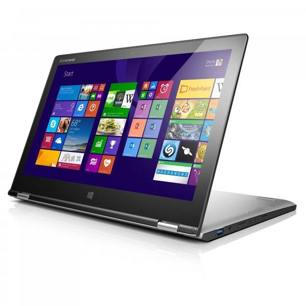 "Lenovo Ideapad Yoga2 13 Ultrabook (33cm (13,3"") IPS FHD; Core i5 (4.Generation) 4210U; 8GB RAM; 128GB SSD; Win8.1) für 783€ bei notebooksbilliger.de Ausverkauft"