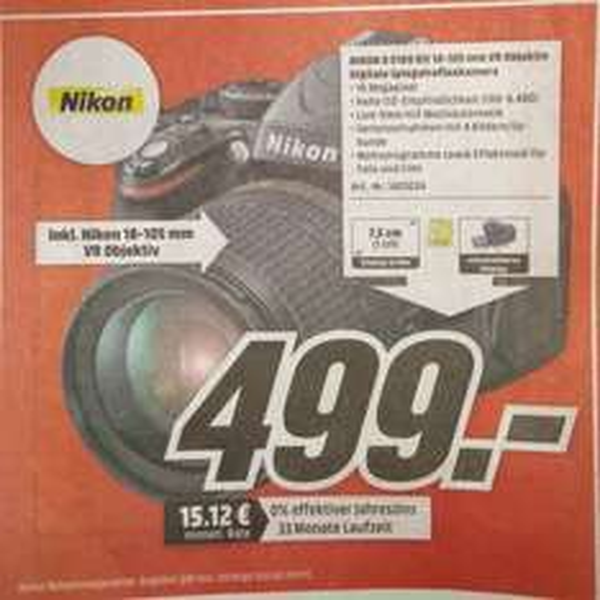 Nikon D5100 Kit 18-105 mm