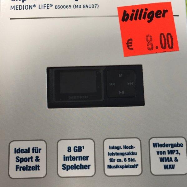 Lokal Bielefeld Aldi sennestadt MP3 Player 8gb