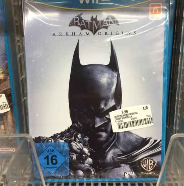 Batman Arkham Origins Wiiu (Lokal, Mannheim) Saturn