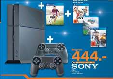 Lokal Hürth (Saturn) PS4 + Fifa 15 + 2 Controller + 1 Wahl Spiel (UFC, Need for Speed oder Battlefield 4)