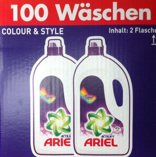 [Feuchtwangen] Ariel Flüssig Colour & Style 0,125€/Wäsche