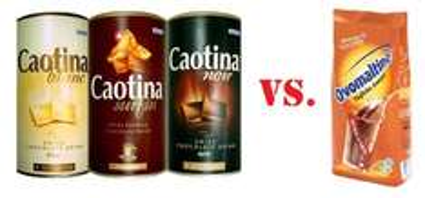 [EDEKA SÜDWEST] Caotina Schweizer Trink-Schokolade Pulver versch. Sorten 500g Dose für 2,99€ / Ovomaltine 500g (Angebot+Coupies)