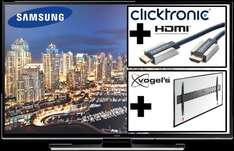 "[Reichelt.de] Samsung 50"" UHD TV HU6900 + VOGELS BASE 05 L Wandhalterung + Clicktronic High Speed HDMI™ -Kabel mit Ethernet, 1,5 m + UHD Video Pack"