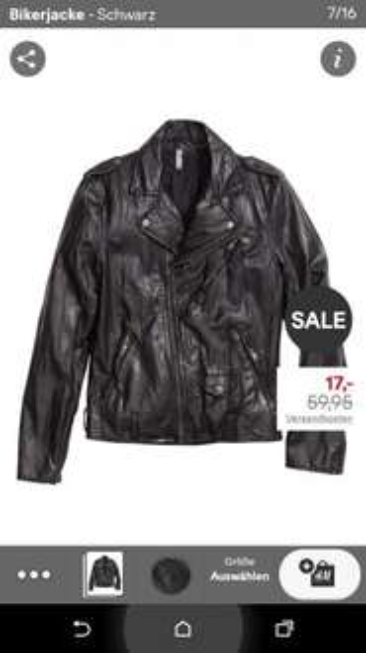 Diverse Herrenjacken stark reduziert bei H&M (online)