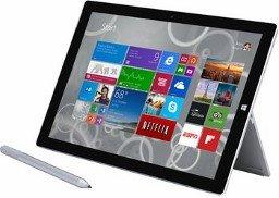 Surface 3 Pro 64 GB + Cover-Tastatur + 2 Jahre SPIEGEL (digital) für 954,60 Euro