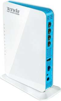 Tenda WL0164 Dual-Band Wireless-N900 Concurrent Gigabit Router (450Mbps, USB 2.0) für 64,85€ @ ZackZack