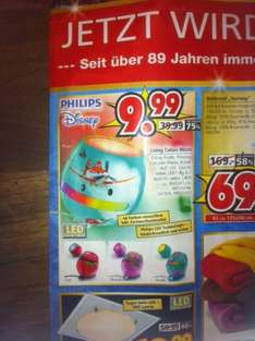 Philips Living Color Micro Disney (lokal Segmüller Friedberg)