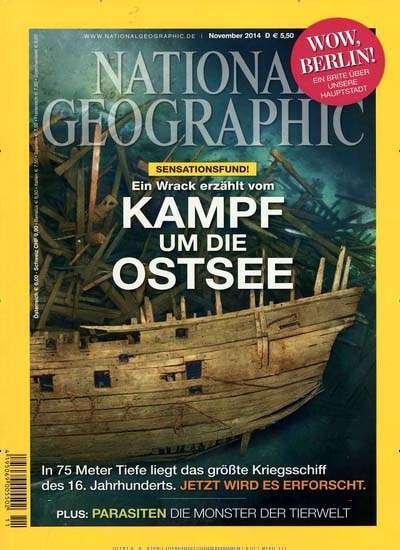 National Geographic (eff. 13,60€) und weitere GuJ Abonnements in Herbst-Kampagne