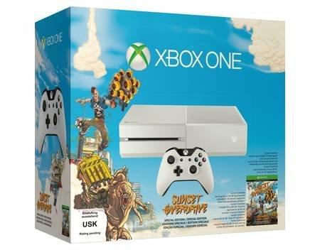 Microsoft Xbox One 500GB (weiß) + Sunset Overdrive für 331€ @MeinPaket