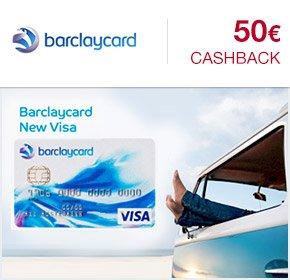[Qipu] : Barclaycard New Visa mit 50€ Cashback von Qipu