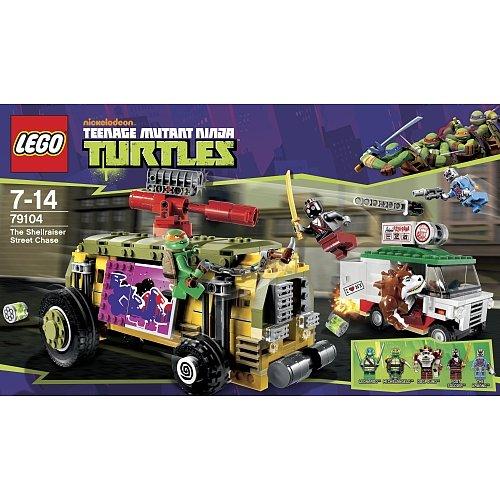 "[Toys""R""Us] LEGO® 79104 Ninja Turtles ""Turtles Shellraiser"" für 29,98€ oder 32,93 € inkl. Versand"