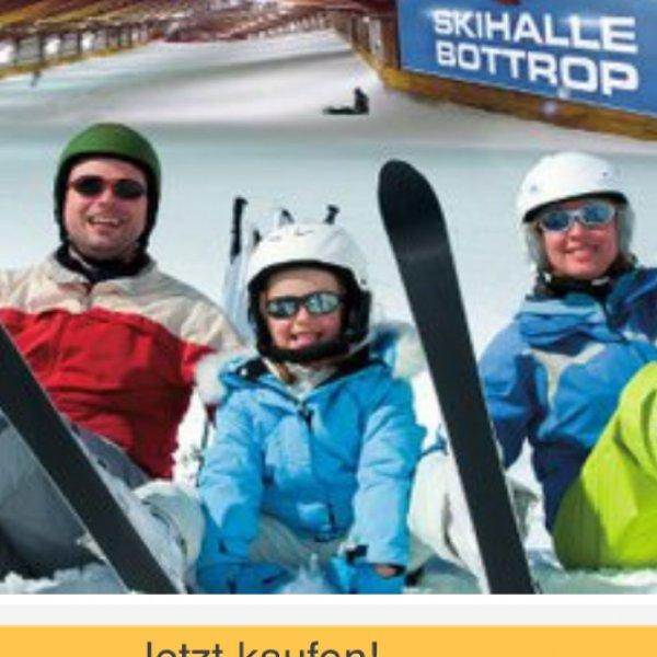 x09Alpincenter Bottrop: Tagesticket mit All Inclusive für nur 16€ (Statt 32€)
